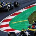 Daniel Ricciardo and Esteban Ocon Renault