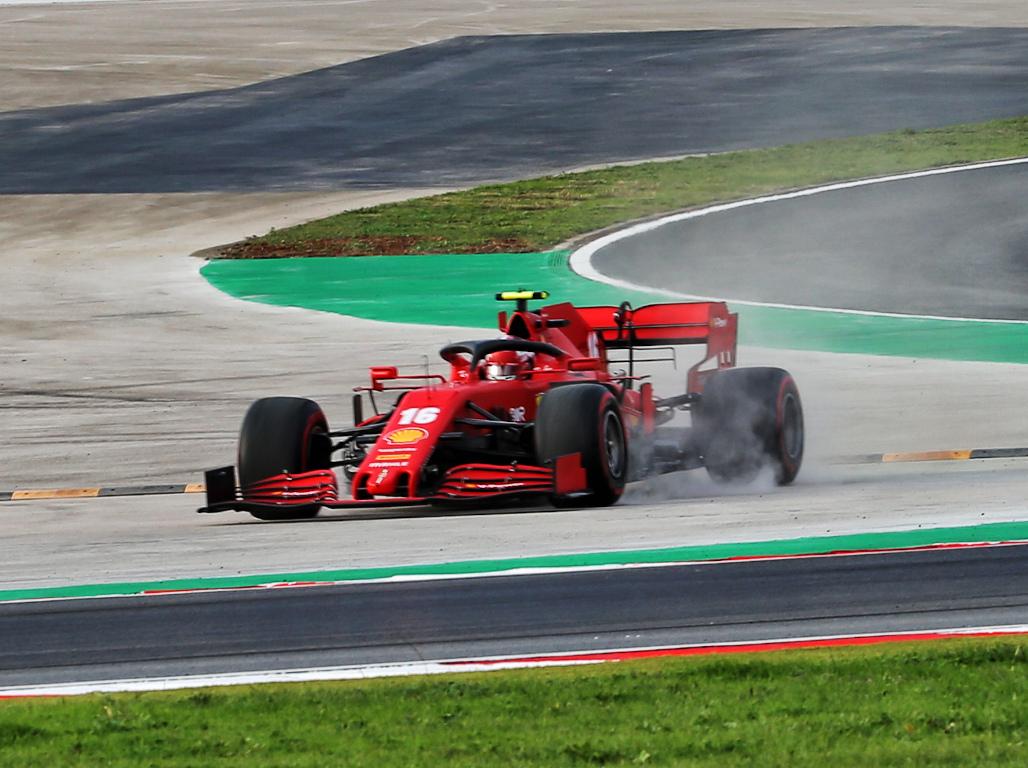 Charles Leclerc Istanbul Park Turkish Grand Prix
