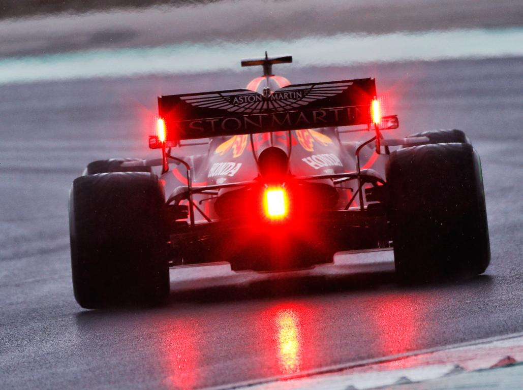 Max Verstappen wet Turkish GP