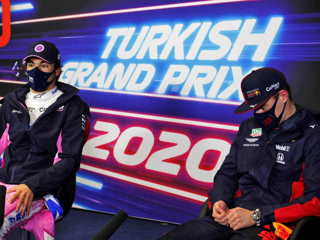 Max Verstappen and Lance Stroll, Turkish Grand Prix qualifying press conference