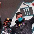 Lewis Hamilton Toto Wolff Turkish GP
