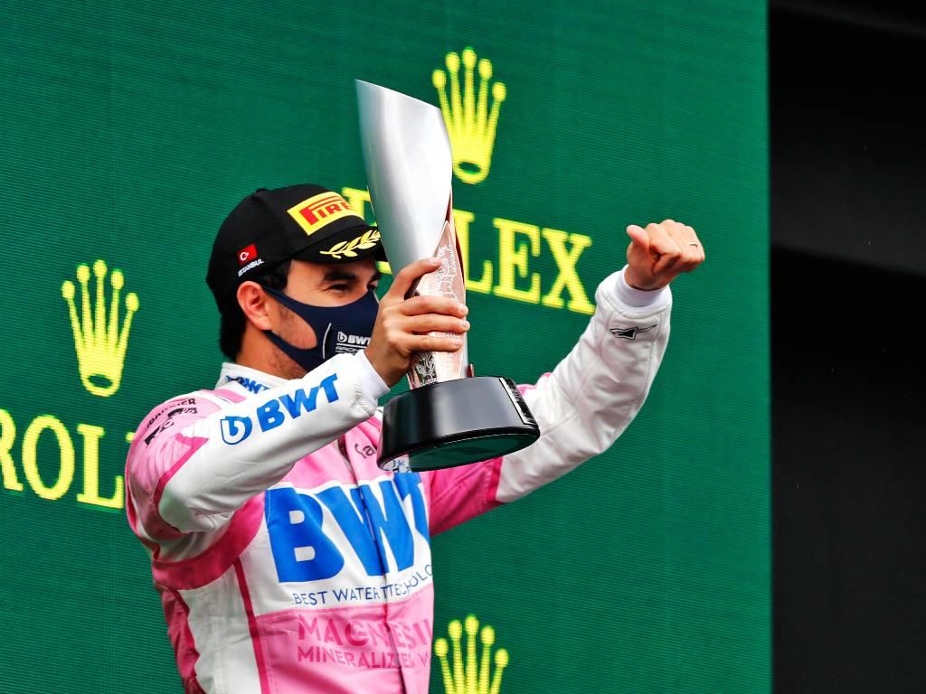 Sergio Perez Turkish Grand Prix