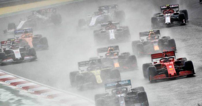 Formula 1 Turkish Grand Prix start