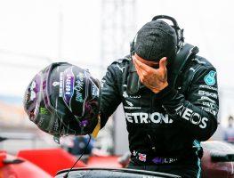Lewis Hamilton emotion World Champion