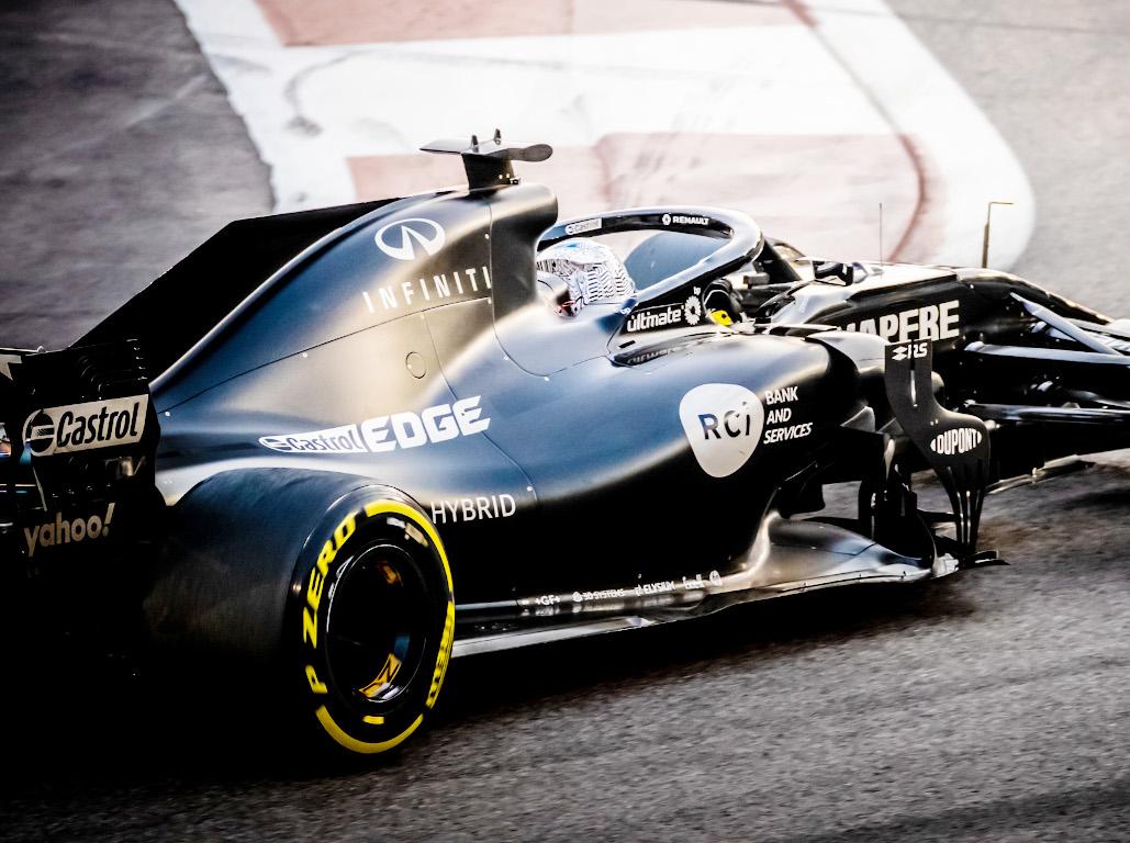 Fernando Alonso Renault test