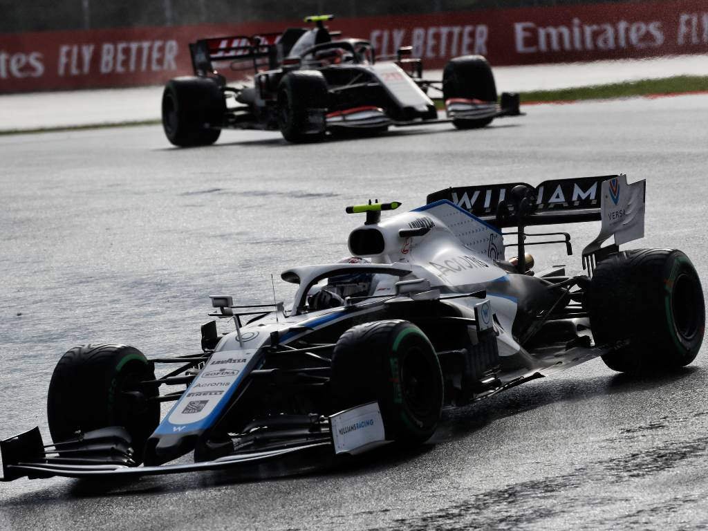 Nicholas Latifi, Williams, Turkish Grand Prix