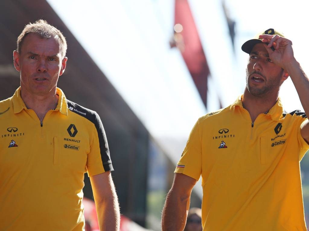Alan Permane and Daniel Ricciardo