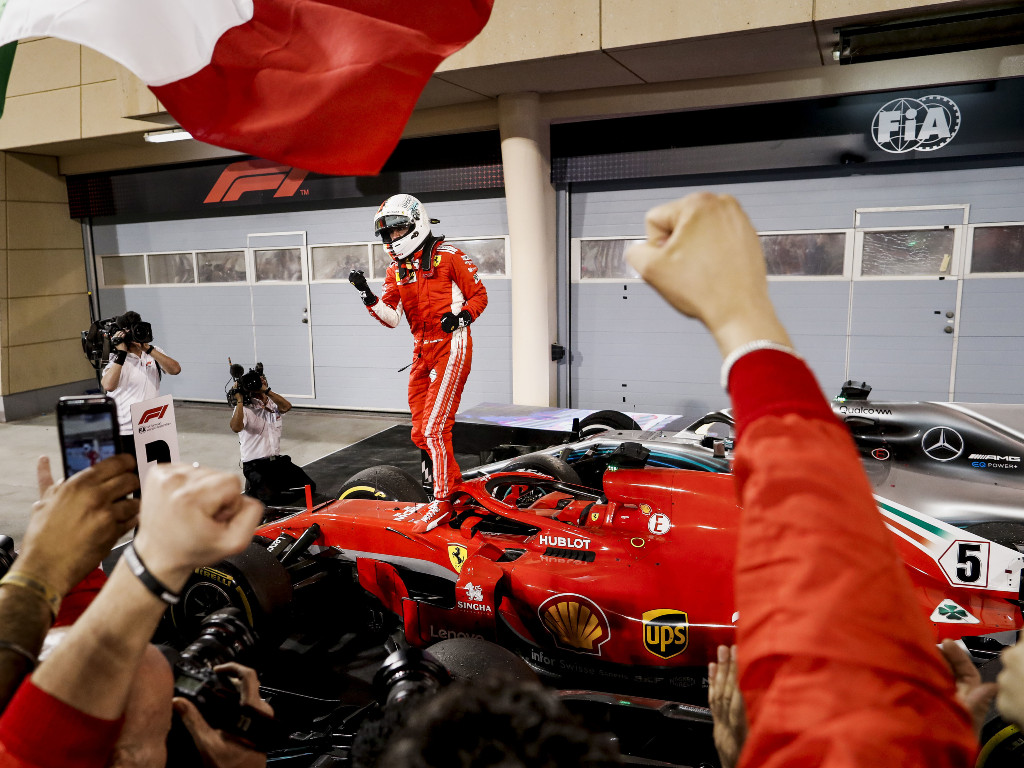Sebastian Vettel Bahrain 2018