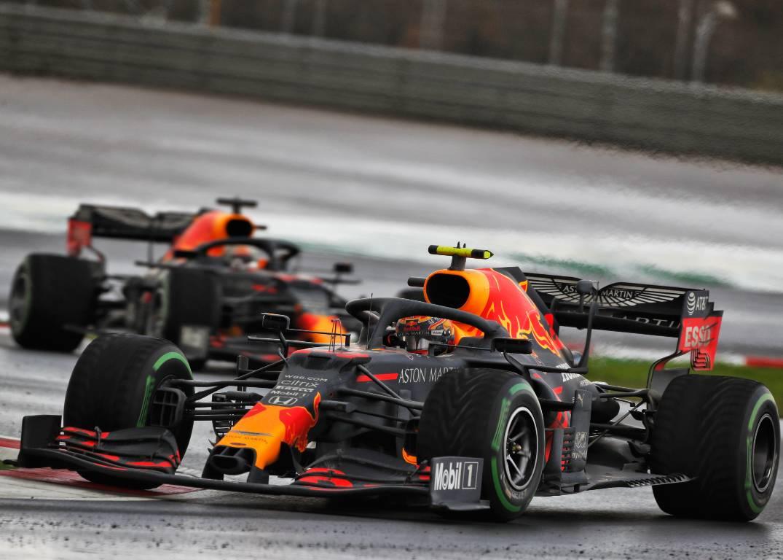 Alex Albon Red Bull Turkish Grand Prix