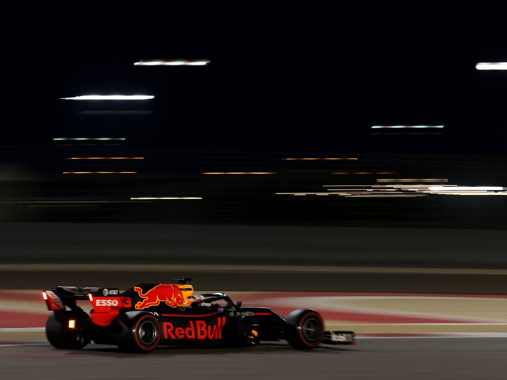 Max Verstappen 2019 Bahrain Grand Prix