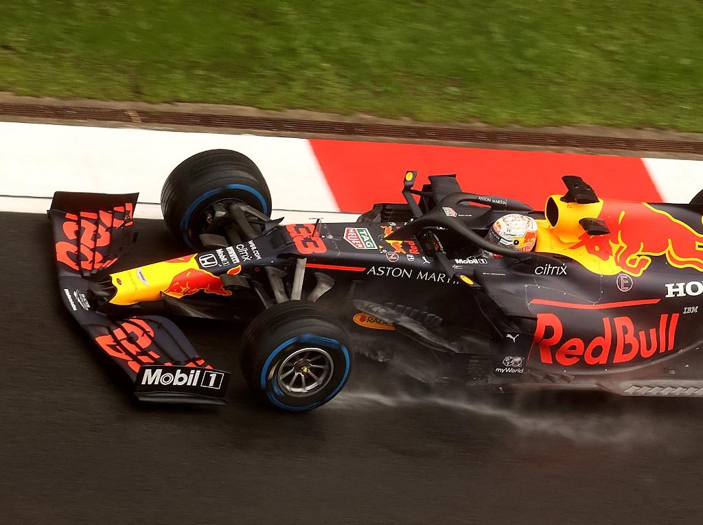 Max verstappen wet front wing