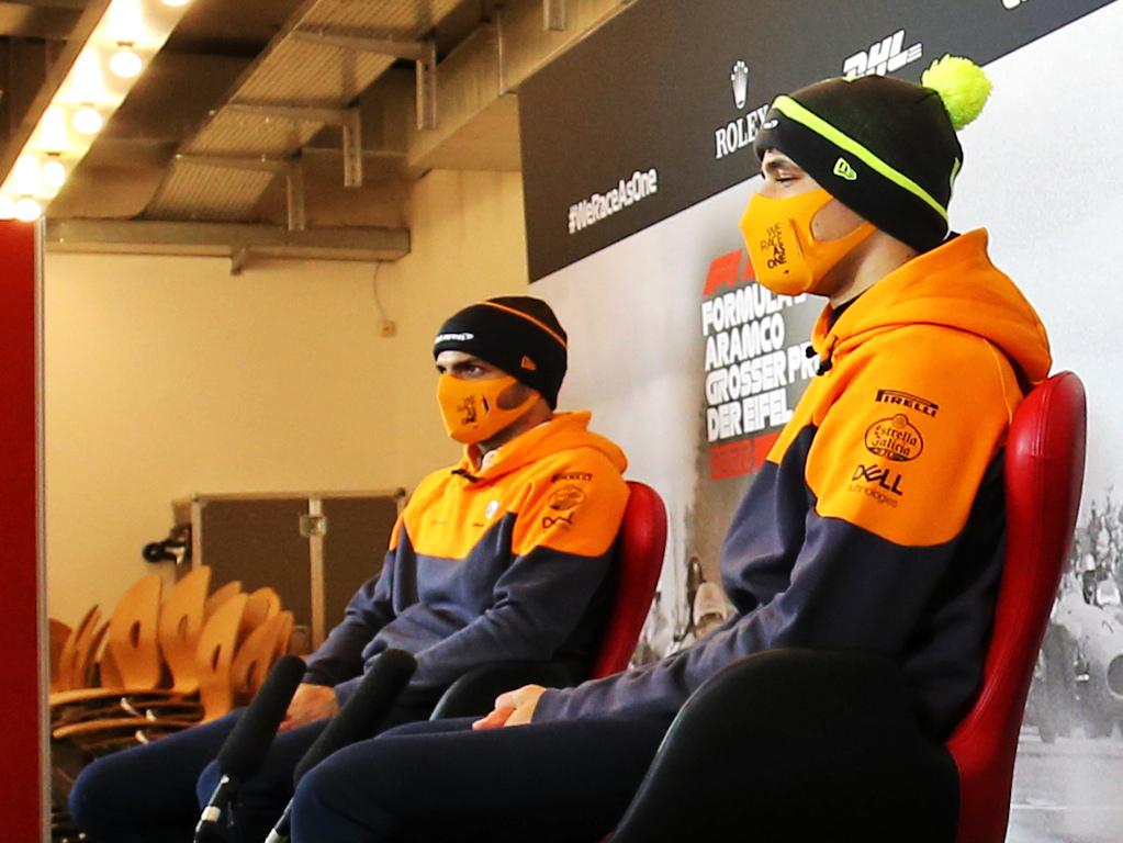 Lando Norris Carlos Sainz McLaren