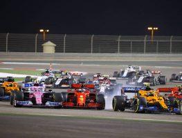 Bahrain Grand Prix start Lance Stroll