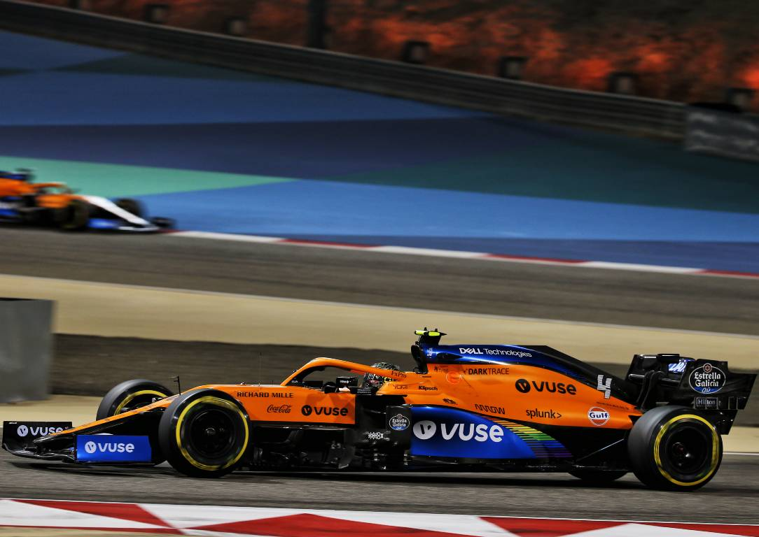 Lando Norris McLaren (Bahrain GP conclusions)