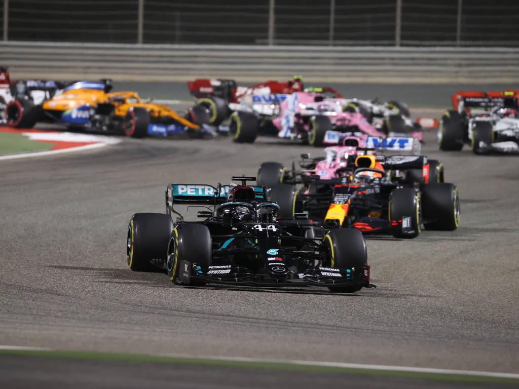 Bahrain Mercedes