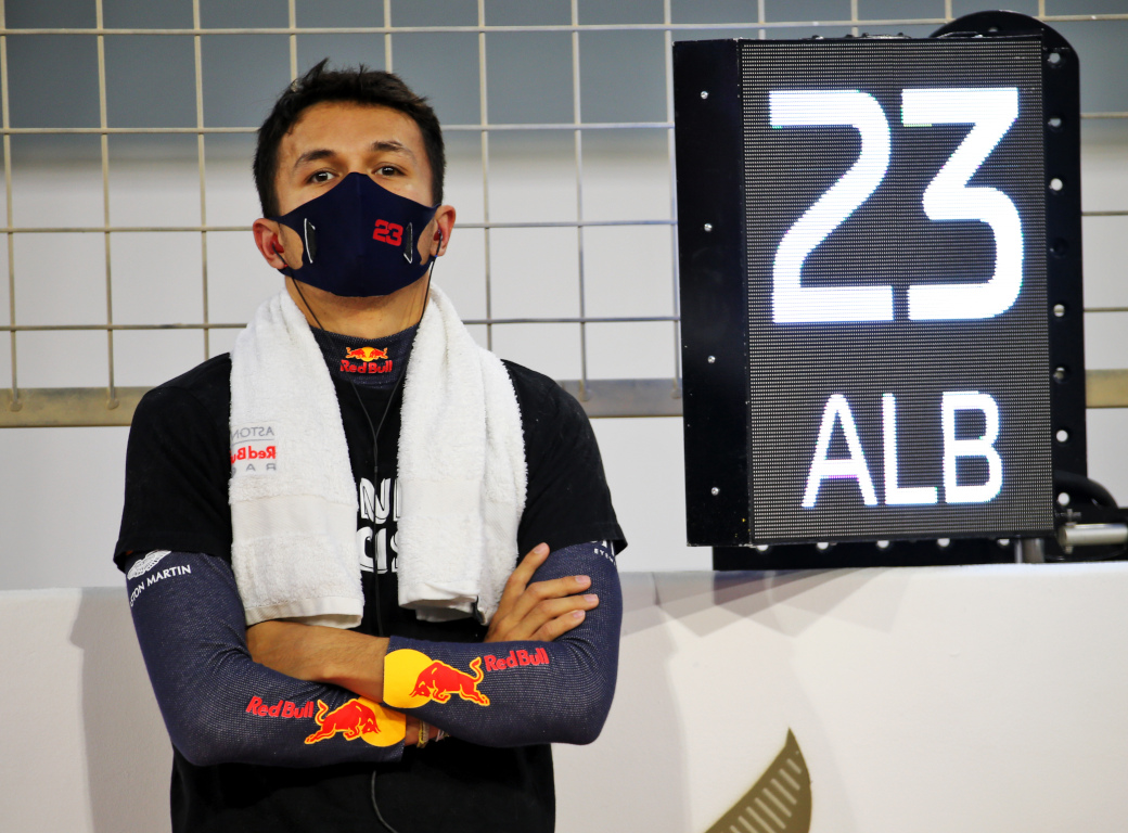 Alex Albon Red Bull 23