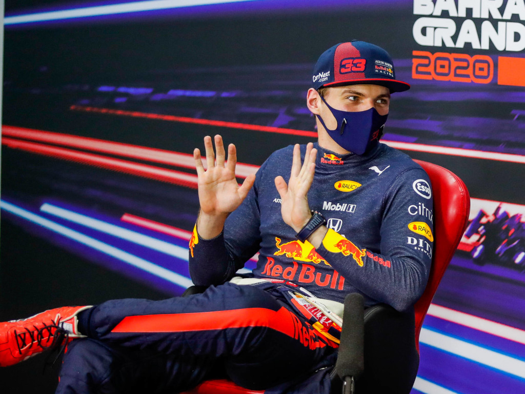 Max Verstappen press conference