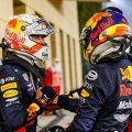 Max Verstappen and Alexander Albon Bahrain