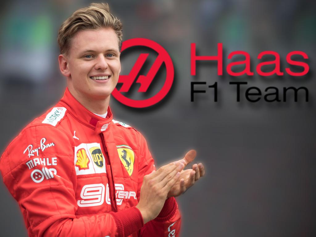Mick Schumacher PA Ferrari Haas