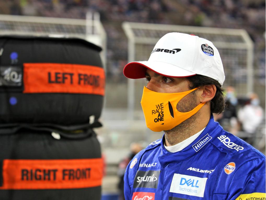 Carlos Sainz grid