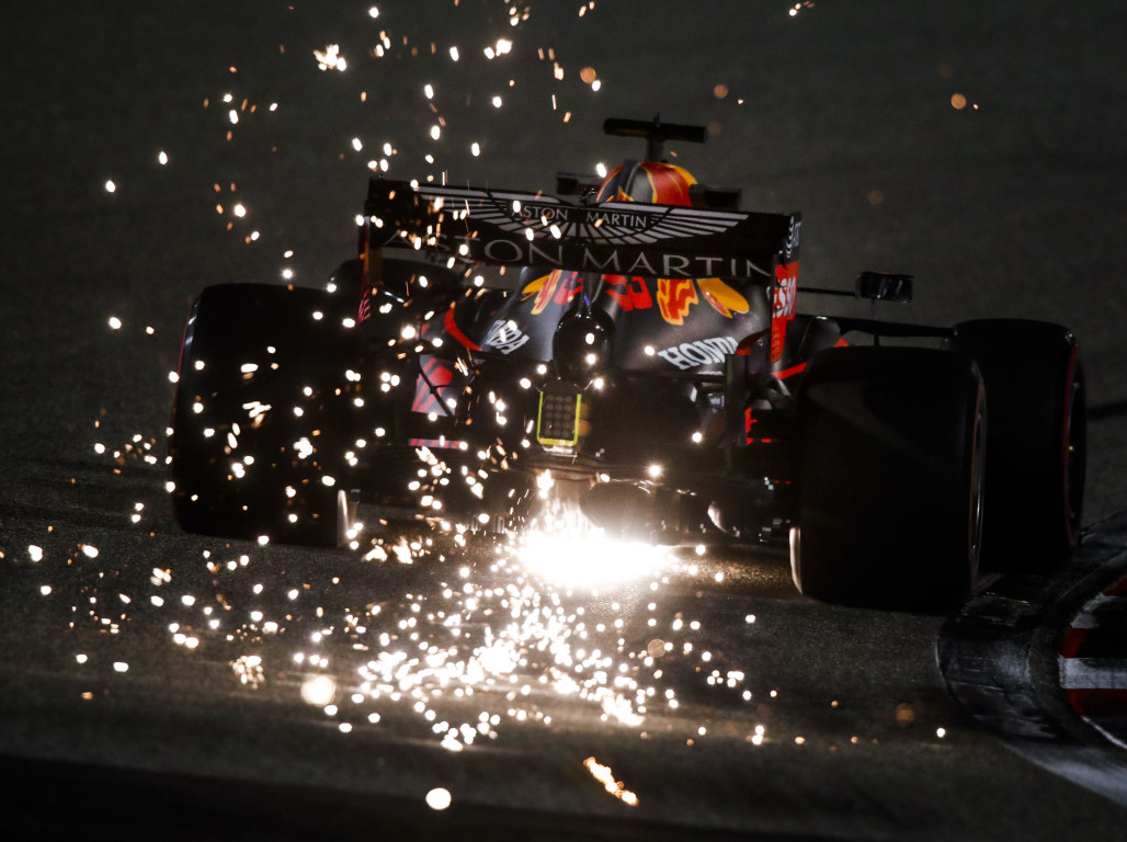 Max Verstappen sparks