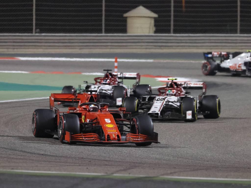 Sebastian Vettel, Sakhir Grand Prix