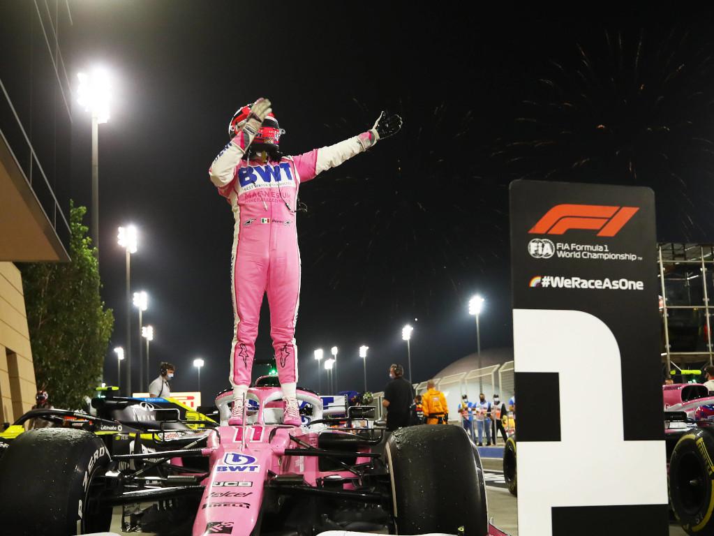 Sergio Perez Sakhir Grand Prix win