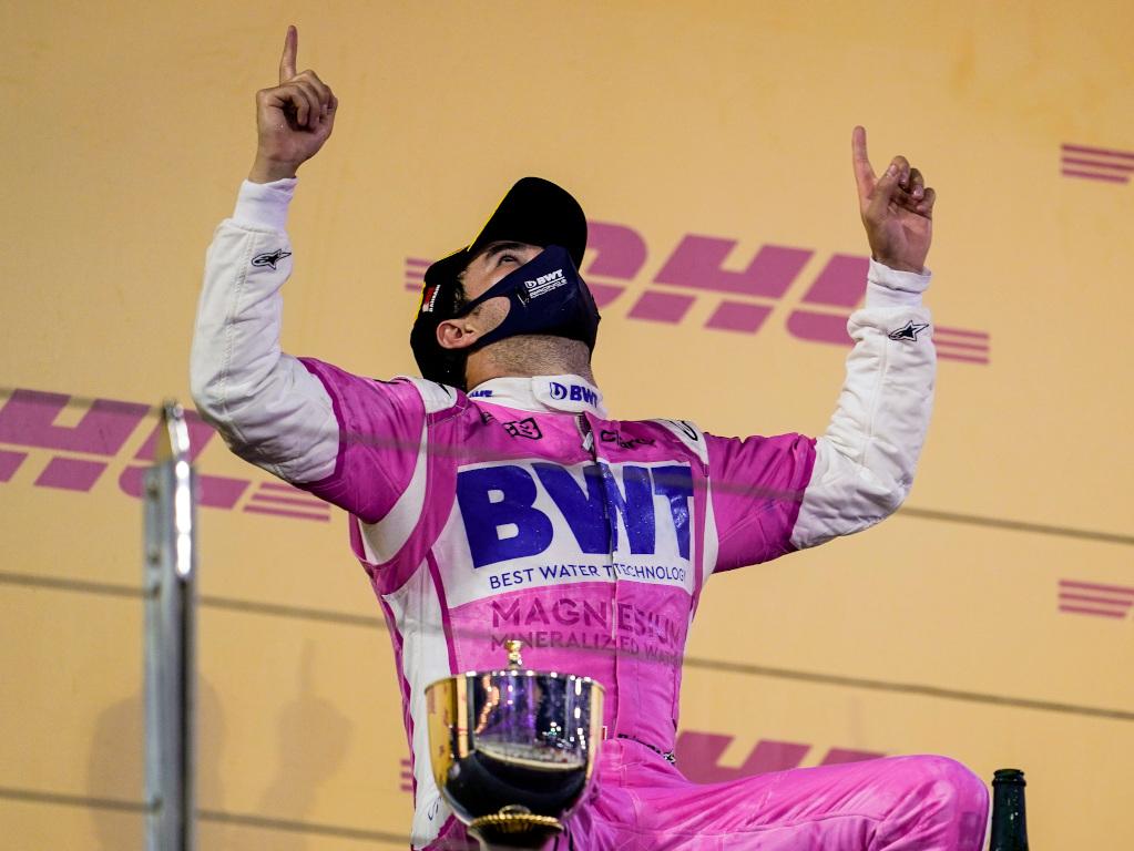 Sergio Perez Sakhir GP win