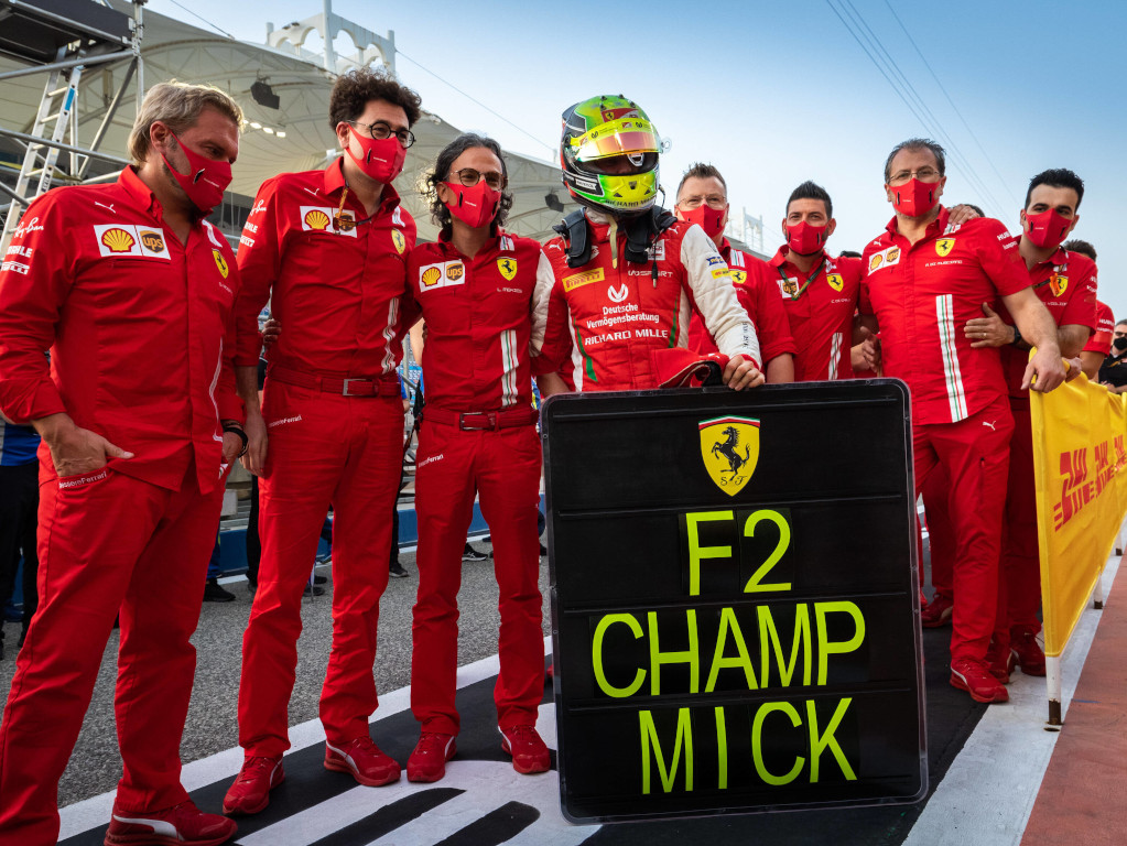 Mick Schumacher Formula 2 title Ferrari