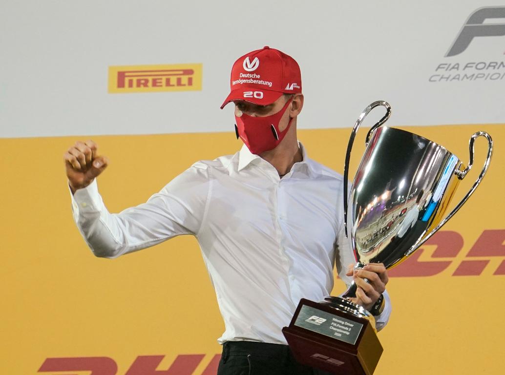Mick Schumacher Formula 2 title