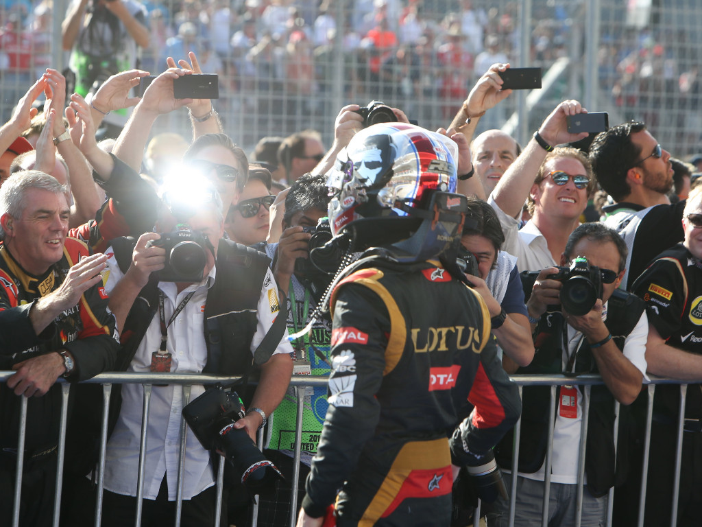 Romain Grosjean Lotus