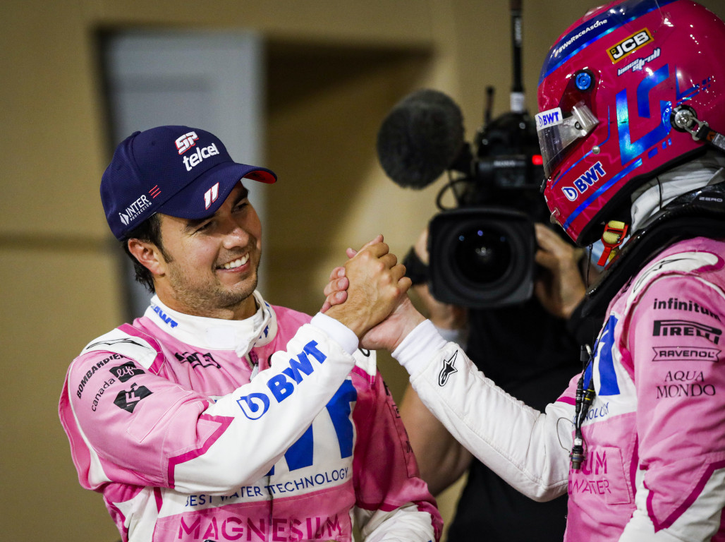 Sergio Perez and Lance Stroll Racing Point