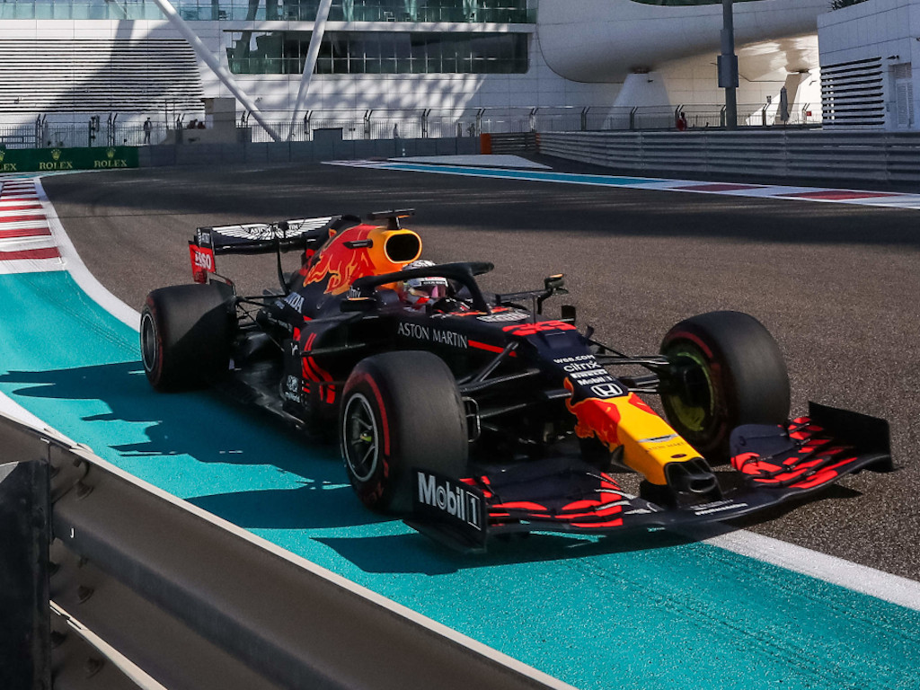 Max Verstappen Abh Dhabi