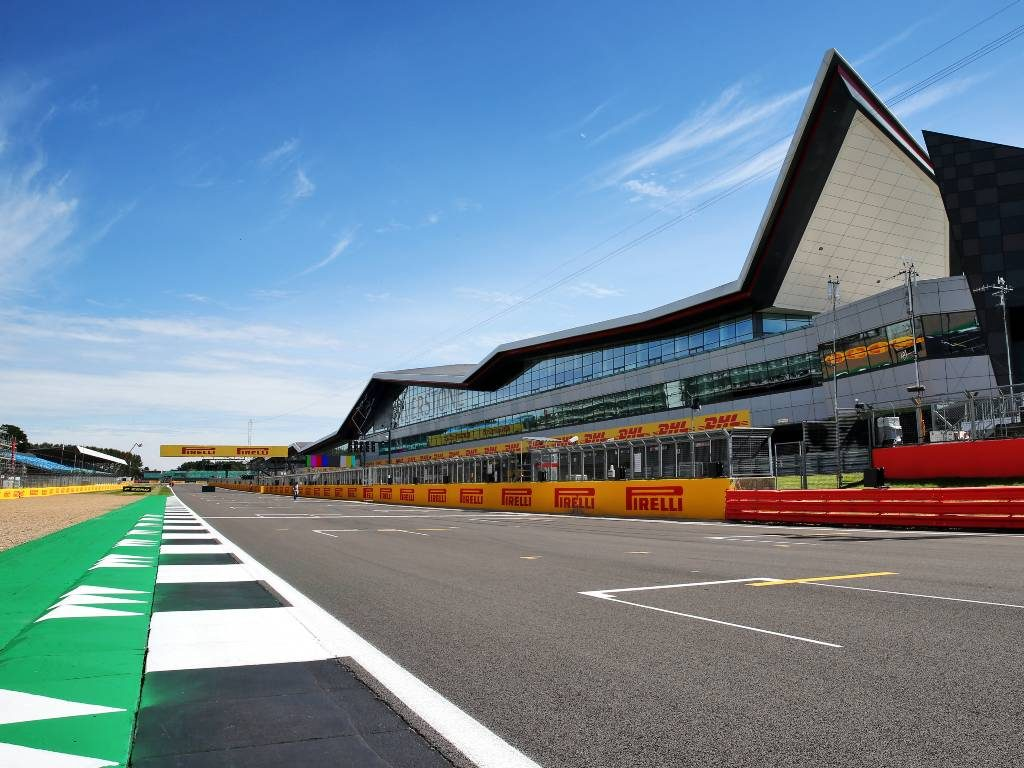 Silverstone pits straight, now the Hamilton Straight