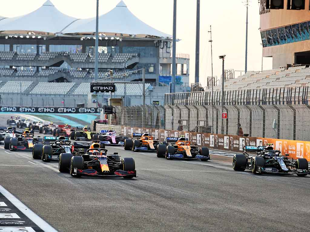 Abu Dhabi Grand Prix - Race