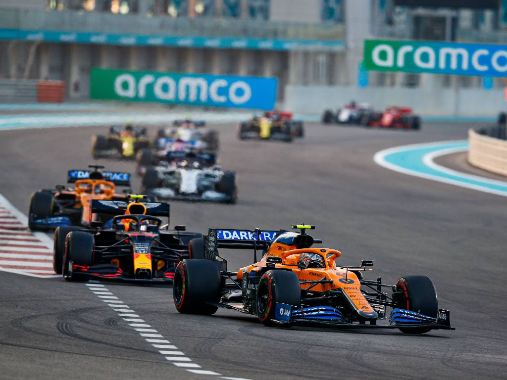Lando Norris, McLaren, Abu Dhabi Grand Prix