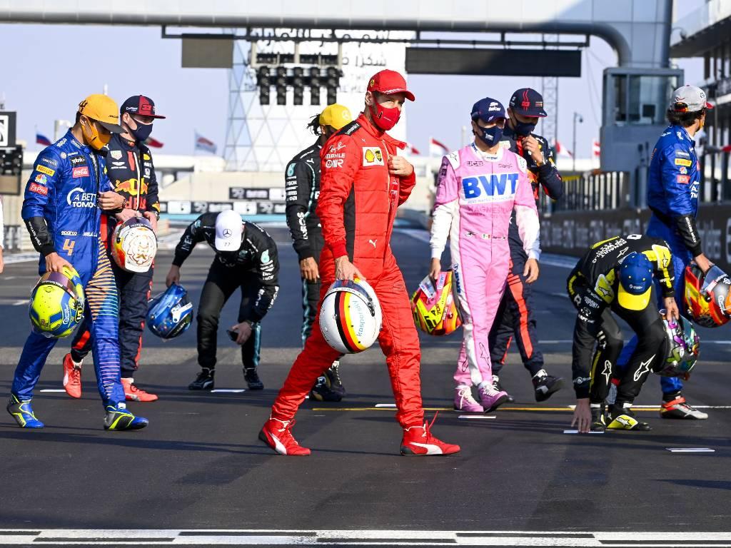Sebastian Vettel, 2020 Abu Dhabi Grand Prix