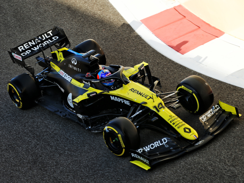 Fernando Alonso RS20 test