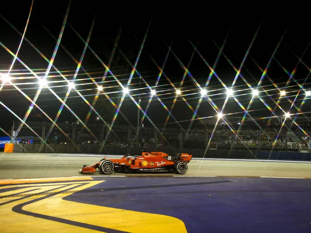 Sebastian Vettel, 2019 Singapore Grand Prix
