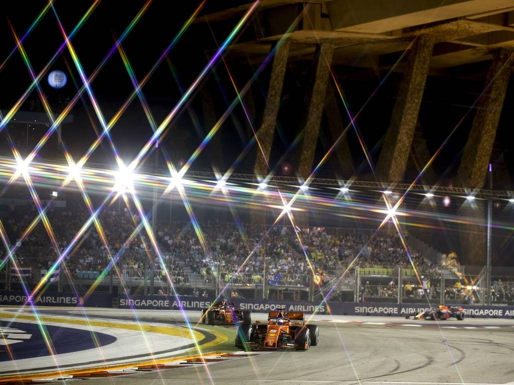 A new lighting system that could open the door for more F1 night races has been pioneered.