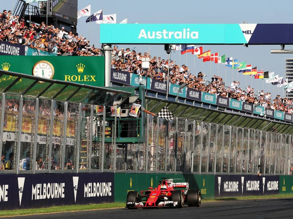 Sebastian Vettel, 2017 Australian Grand Prix
