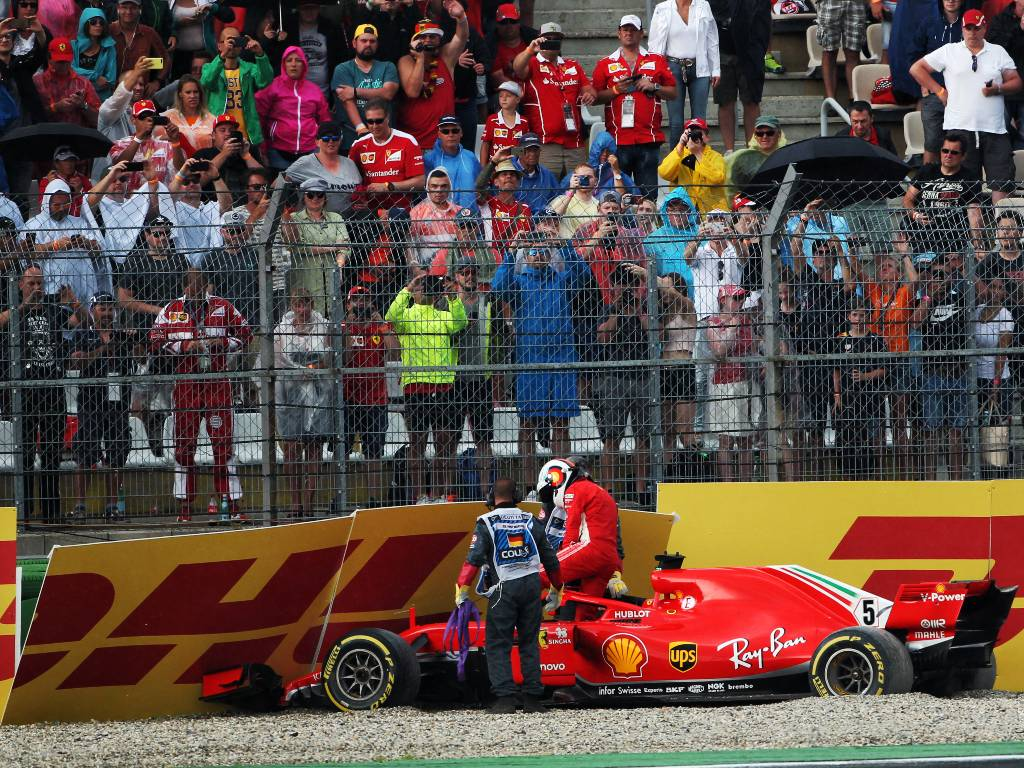 Sebastian Vettel, 2018 German Grand Prix