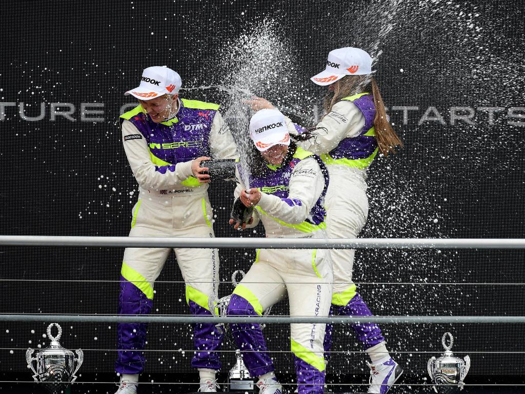 W Series females in motor sport