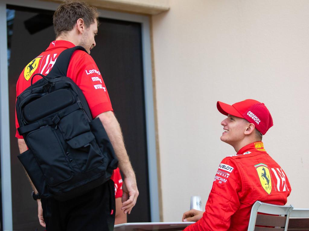 Sebastian-Vettel-Mick-Schumacher-PA