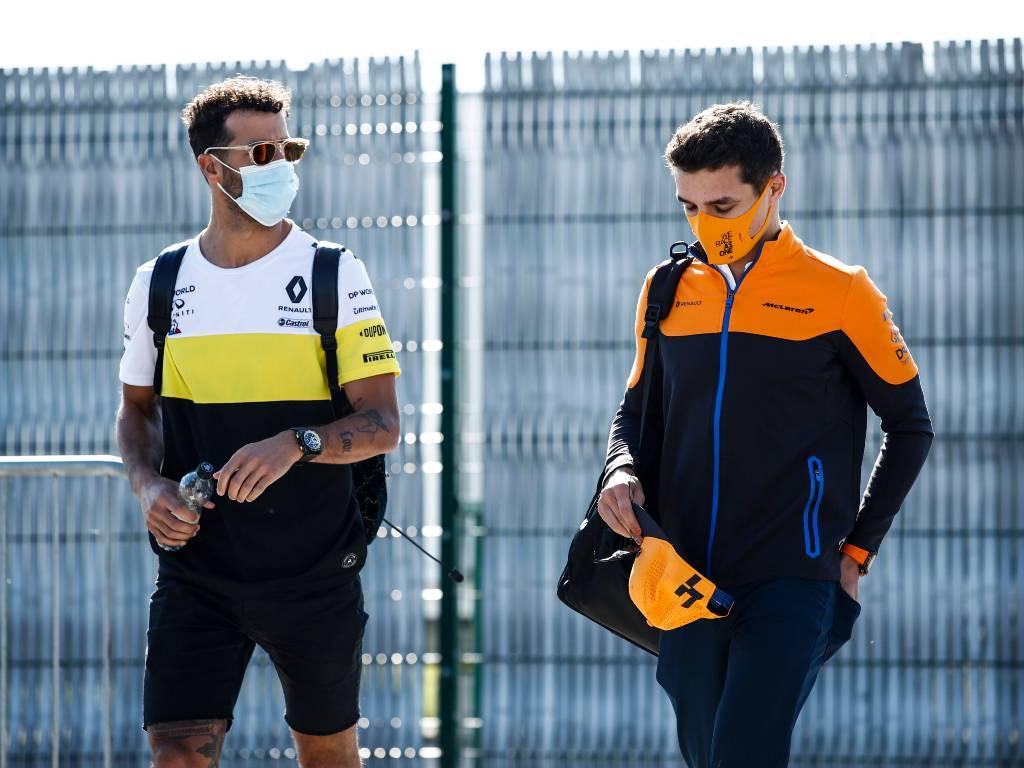 Daniel Ricciardo and Lando Norris (McLaren)