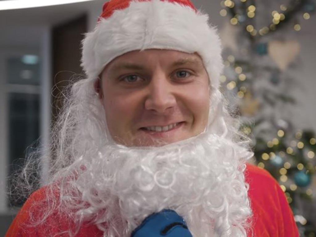 Valtteri Bottas Christmas