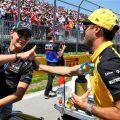 George Russell, Daniel Ricciardo
