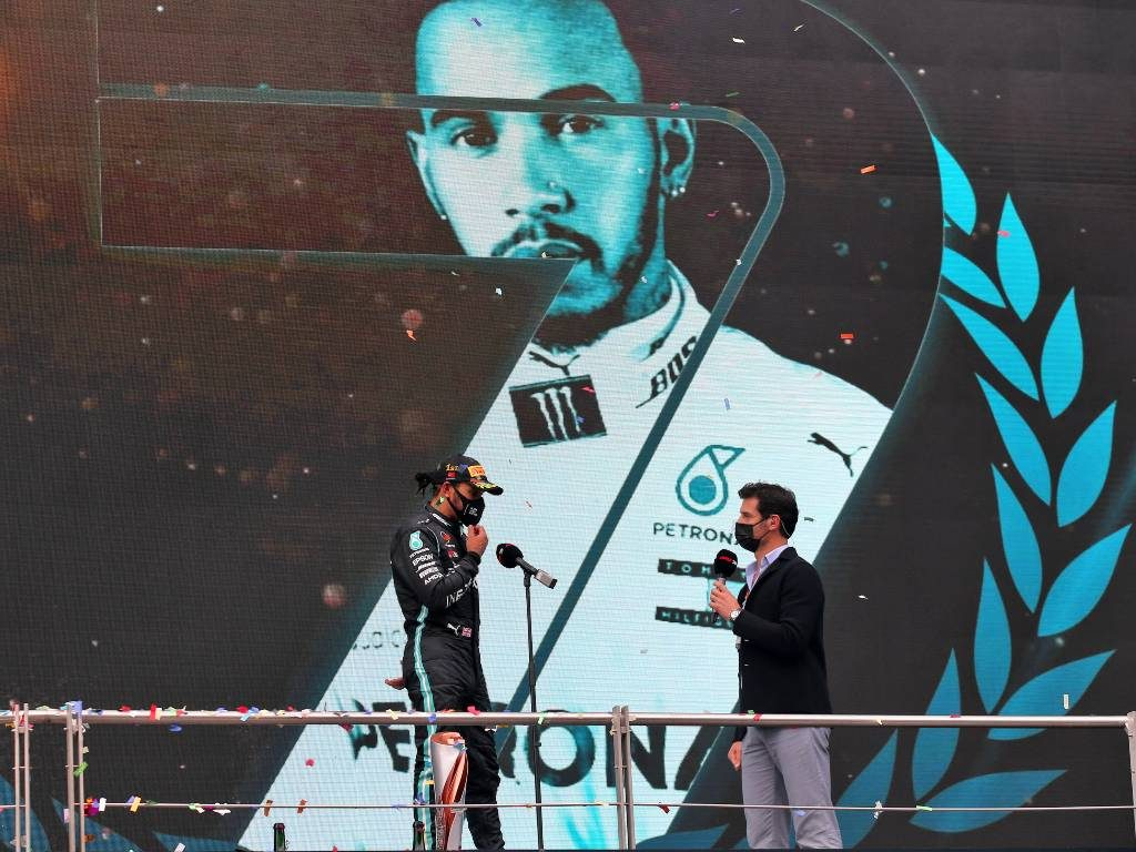 Mark Webber interviews Lewis Hamilton