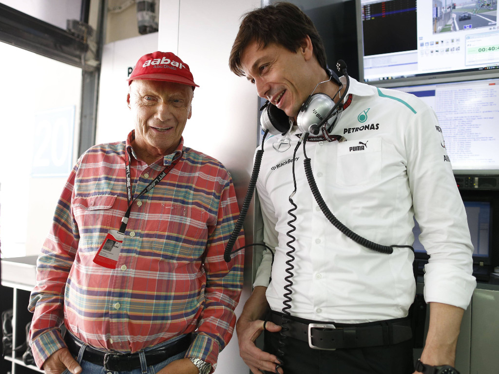 Niki Lauda Toto Wolff