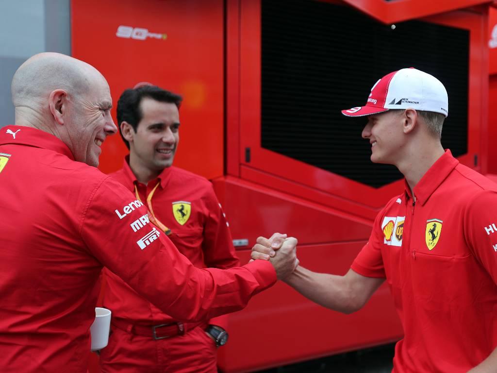 Jock Clear and Mick Schumacher